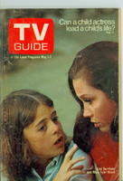 1971 TV Guide May 1 Mary Tyler Moore Eastern Washington edition Very Good - No Mailing Label  [Wear and creasing on cover, contents fine]