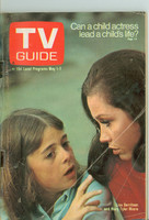 1971 TV Guide May 1 Mary Tyler Moore Cleveland edition Good to Very Good - No Mailing Label  [Loose at staples, heavy creasing; contents fine]