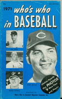 1971 Who's Who in Baseball Bench, Gibson, Powell (Scarcer Blue Cover) Excellent [lt wear on cover, contents fine]