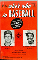 1976 Who's Who in Baseball Joe Morgan, Fred Lynn Excellent [Cover crease, ow very clean]