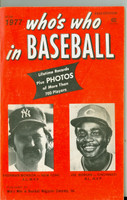 1977 Who's Who in Baseball Joe Morgan, Thurman Munson Excellent to Mint [lt wear on cover, contents very clean]