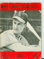 1944 Who's Who in Baseball Stan Musial Very Good [Heavy wear and creasing on cover, contents fine]