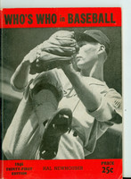 1946 Who's Who in Baseball Hal Newhouser Very Good to Excellent [lt wear on cover, contents fine]
