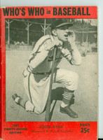 1947 Who's Who in Baseball Eddie Dyer Very Good to Excellent [Wear along the binding, contents fine]