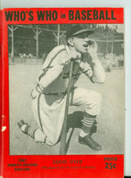 1947 Who's Who in Baseball Eddie Dyer Very Good [Wear along the binding, minor paper loss on cover; contents fine]