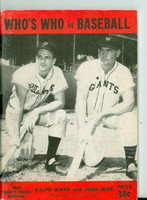 1948 Who's Who in Baseball Ralph Kiner, Johnny Mize Very Good to Excellent [Wear on cover, contents fine]