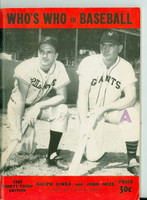 1948 Who's Who in Baseball Ralph Kiner, Johnny Mize Excellent [lt wear on cover, contents clean]