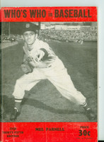 1950 Who's Who in Baseball Mel Parnell Excellent [Lt wear and creasing on cover; contents clean]