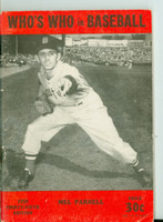 1950 Who's Who in Baseball Mel Parnell Very Good to Excellent [Stray pencil mark on cover; wear on cover, contents clean]