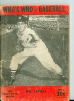 1950 Who's Who in Baseball Mel Parnell Fair to Good [Very heavy wear on cover; contents fine]