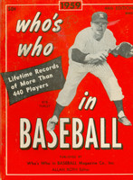1959 Who's Who in Baseball Bob Turley (Back Cover: Richie Ashburn photo) Very Good to Excellent [Stray writing on cover, contents fine]