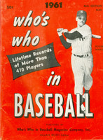 1961 Who's Who in Baseball Roger Maris Excellent [Lt wear and creasing on covers, contents fine]