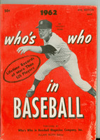 1962 Who's Who in Baseball Whitey Ford (Back Cover: Roberto Clemente photo) Very Good to Excellent [Scuffing and lt discoloration on cover; contents fine]