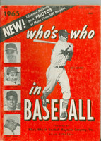 1965 Who's Who in Baseball Ken Boyer (Back Cover: Dean Chance photo) Very Good to Excellent [Surface wear on both covers; contents fine]