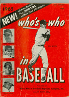 1965 Who's Who in Baseball Ken Boyer (Back Cover: Dean Chance photo) Very Good [Wear and creasing on covers, contents fine]