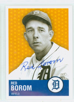 Red Borom AUTOGRAPH d.11 Collector Issue Tigers   [SKU:BoroR8074_COLL]