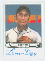 Leon Day AUTOGRAPH d.95 Collector Issue   [SKU:DayL7086_COLL]