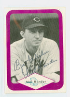 Mel Harder AUTOGRAPH d.02 Great Plains Sports Collectors Assoc Indians 