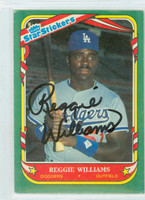Reggie Williams AUTOGRAPH Star #124 Dodgers 