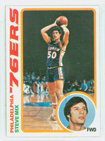 Steve Mix AUTOGRAPH 1978 Topps Basketball 