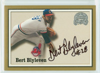 Bert Blyleven AUTOGRAPH 2000 Fleer Greats of the Game Indians CERTIFIED 