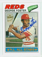 George Foster AUTOGRAPH 2002 Topps Archives Autographs Reds CERTIFIED 