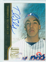 Terrmel Sledge AUTOGRAPH Bowman 2002 Certified Autograph Issue Expos CERTIFIED 