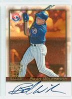 Brad Wilkerson AUTOGRAPH Bowman Certified Autograph Issue Expos CERTIFIED 