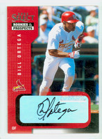 Bill Ortega AUTOGRAPH 2002 Donruss SELECT Rookies and Prospects Cardinals CERTIFIED 