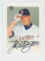 John Flaherty AUTOGRAPH Leaf 1996 Leaf Signature Series Extended Padres CERTIFIED 