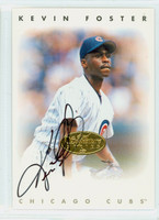 Kevin Foster AUTOGRAPH d.08 Leaf 1996 Leaf Signature Series Cubs CERTIFIED 