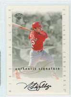 Mike Gallego AUTOGRAPH Leaf 1996 Leaf Signature Series Extended Cardinals CERTIFIED 