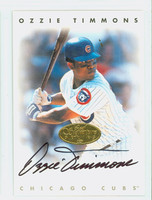 Ozzie Timmons AUTOGRAPH Leaf 1996 Leaf Signature Series Cubs CERTIFIED   [SKU:TimmO13630_LEAFSPce]