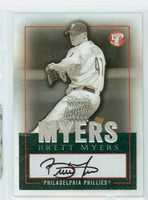 Brett Myers AUTOGRAPH 2003 Topps PRISTINE Personal Endorsements Phillies CERTIFIED 