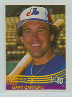 1984 Donruss Baseball 55 Gary Carter Montreal Expos Near-Mint Plus