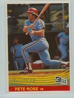 1984 Donruss Baseball 61 Pete Rose Philadelphia Phillies Near-Mint to Mint