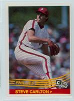 1984 Donruss Baseball 111 Steve Carlton Philadelphia Phillies Near-Mint Plus