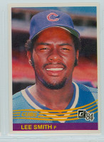 1984 Donruss Baseball 289 Lee Smith Chicago Cubs Near-Mint to Mint