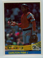 1984 Donruss Baseball 302 Carlton Fisk Chicago White Sox Near-Mint to Mint