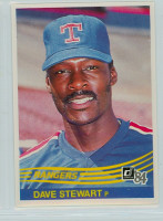 1984 Donruss Baseball 343 Dave Stewart Texas Rangers Near-Mint to Mint
