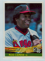 1984 Donruss Baseball 352 Rod Carew California Angels Near-Mint to Mint