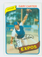 1980 Topps Baseball 70 Gary Carter Montreal Expos Near-Mint Plus