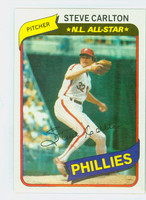1980 Topps Baseball 210 Steve Carlton Philadelphia Phillies Near-Mint to Mint
