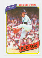 1980 Topps Baseball 320 Dennis Eckersley Boston Red Sox Near-Mint Plus