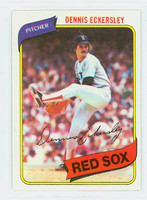 1980 Topps Baseball 320 Dennis Eckersley Boston Red Sox Near-Mint to Mint