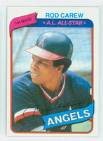 1980 Topps Baseball 700 Rod Carew California Angels Near-Mint to Mint