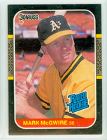 1987 Donruss Baseball Mark McGwire ROOKIE Oakland Athletics Near-Mint