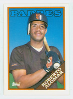 1988 Topps Baseball Traded Roberto Alomar ROOKIE San Diego Padres Near-Mint to Mint