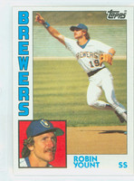 1984 Topps Baseball 10 Robin Yount Milwaukee Brewers Near-Mint to Mint