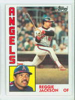 1984 Topps Baseball 100 Reggie Jackson California Angels Near-Mint to Mint